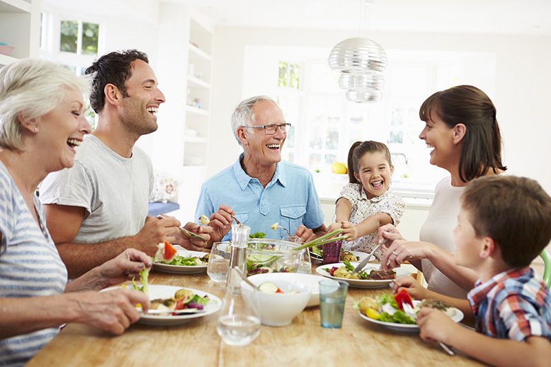 Ten Reasons to Eat Together with your Family - Warwick Marsh